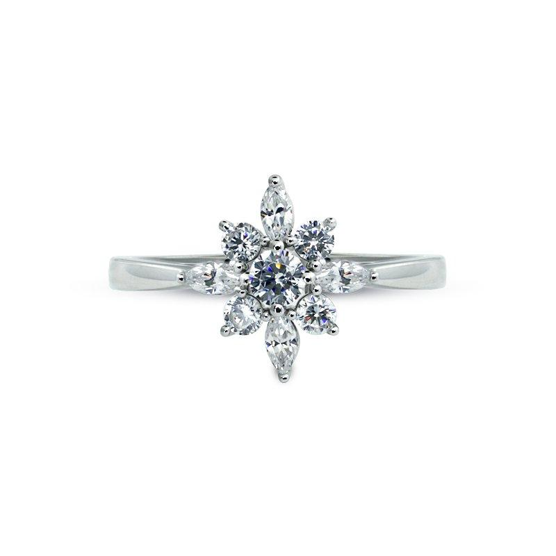 Sterling Silver Ring - Flower design