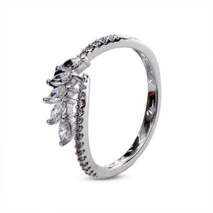 Sterling silver Ring - Laurel Wreath design