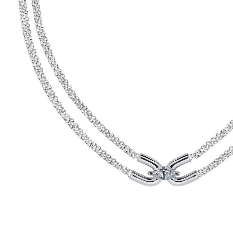 Sterling Silver Adjustable Necklace
