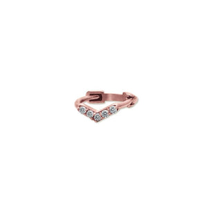 9K Rose Gold Hoop