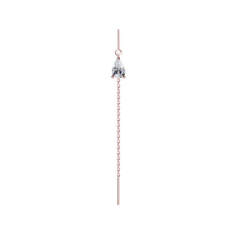Veda Drop Earring Rose Gold