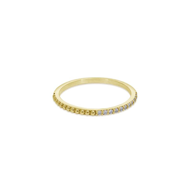 9K Yellow Gold Ring