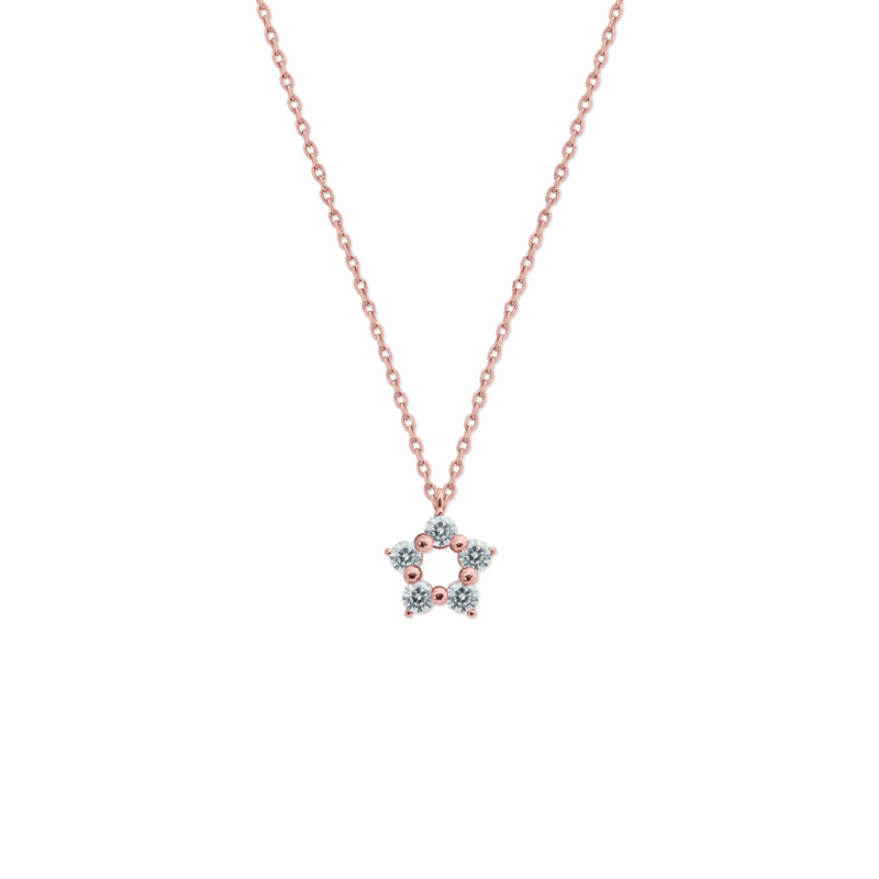 Libby Necklace Rose Gold