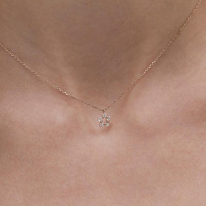 Libby Necklace in Rose Gold