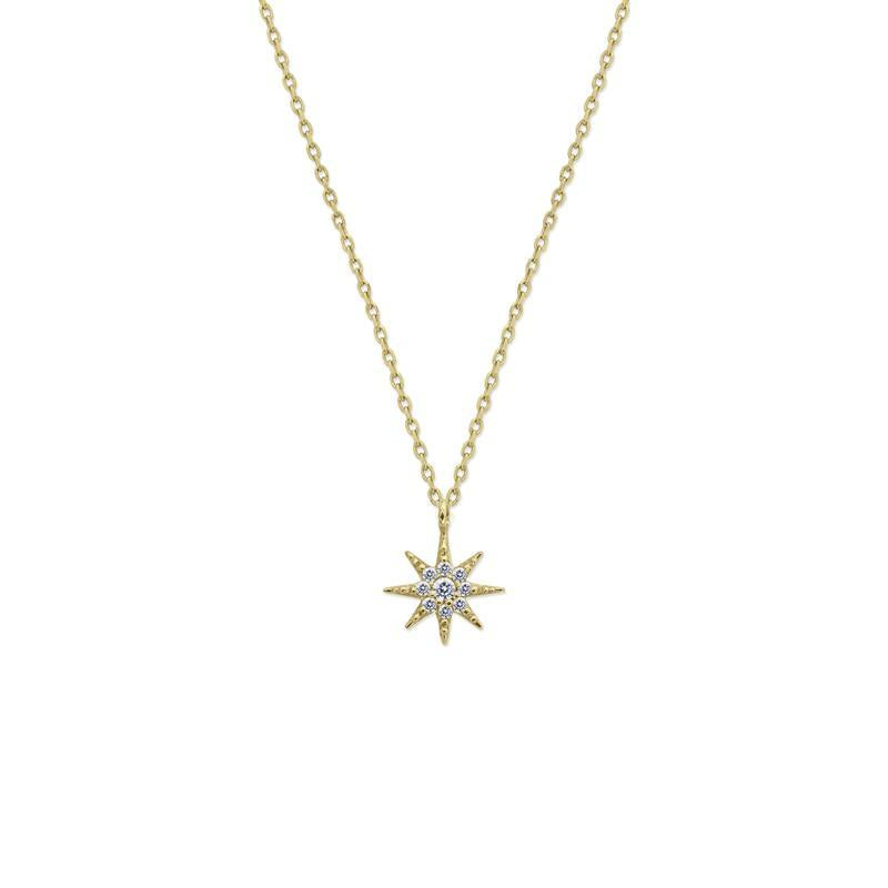 Lyra Necklace in Yellow Gold