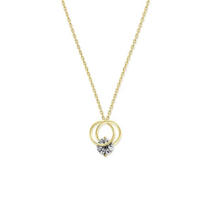 9K Yellow Gold Necklace