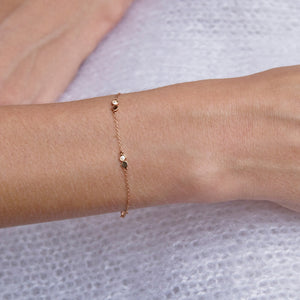 Rumi Bracelet Rose Gold