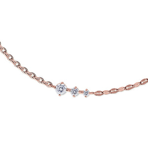 Tamsin Bracelet in Rose Gold