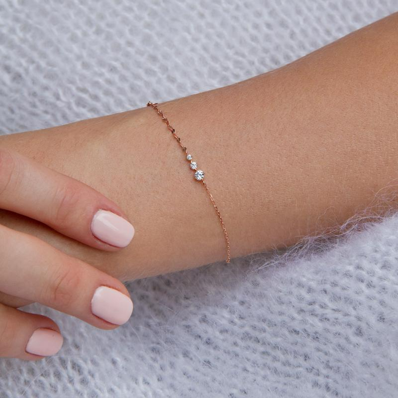 Tamsin Bracelet Rose Gold