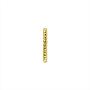 9K Yellow Gold Hoop Earring