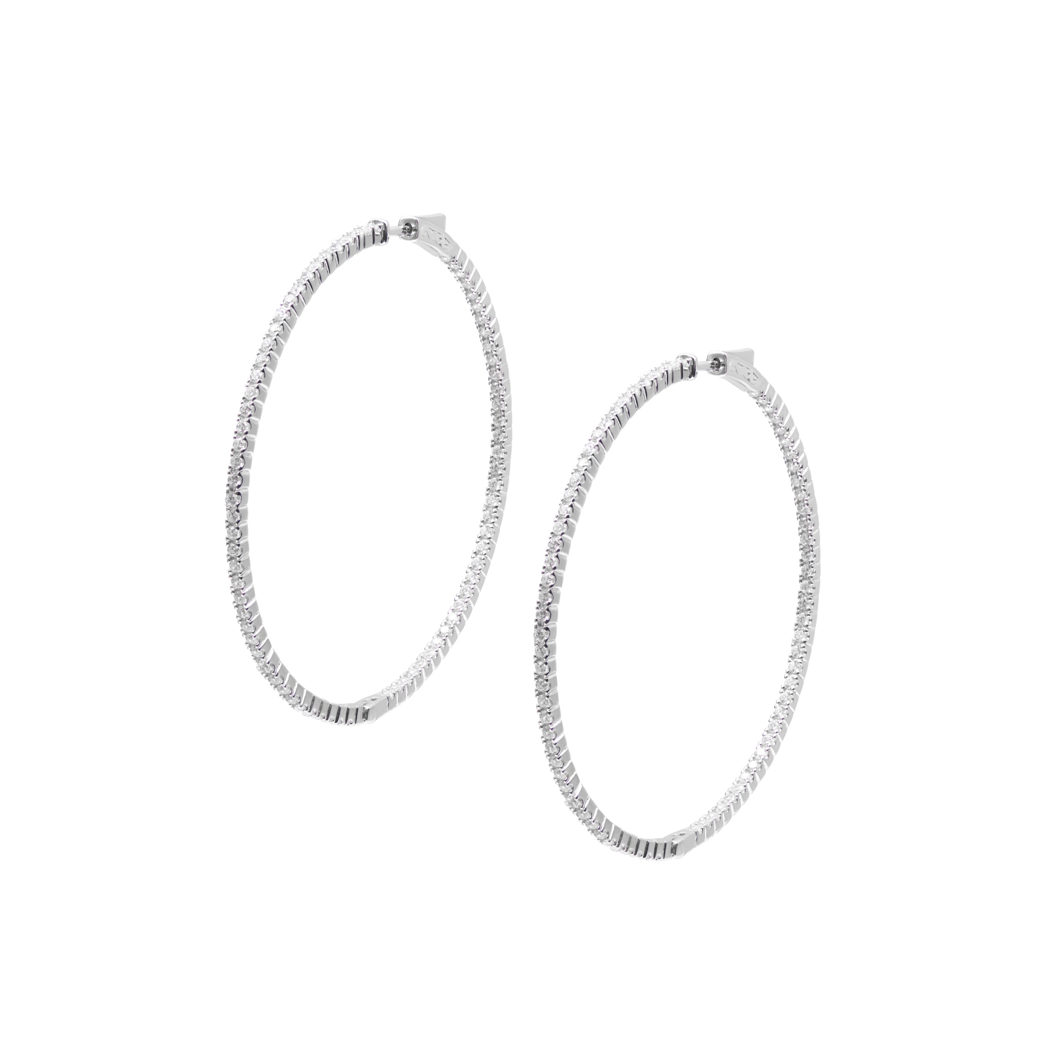 Paloma Large Hoops