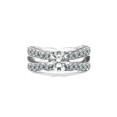 Amal Ring 18K White Gold