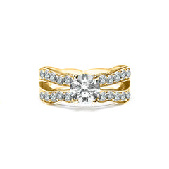 Amal Ring 18K Yellow Gold