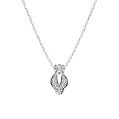 Lais Necklace 18K White Gold
