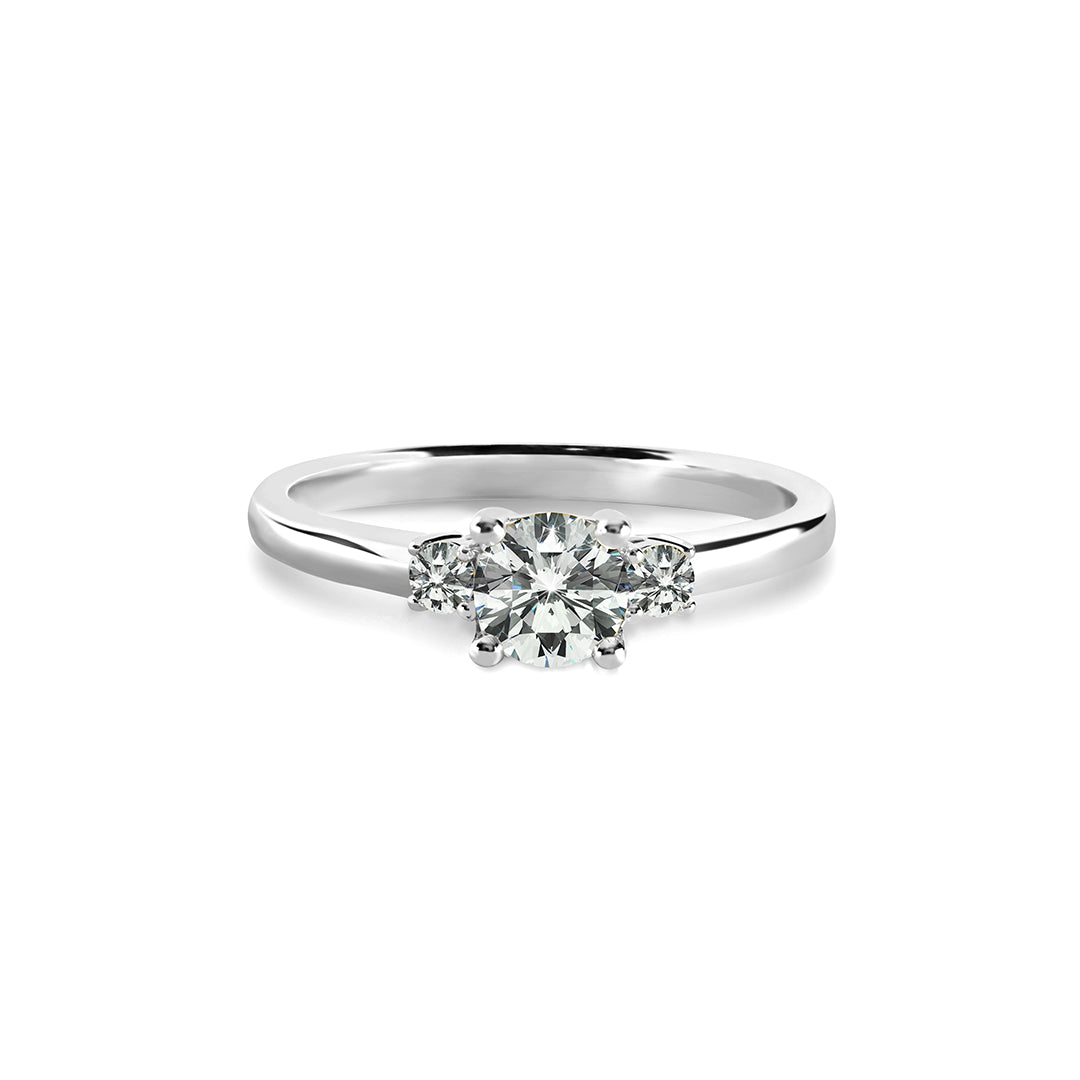 Beatrice Ring 18K White Gold
