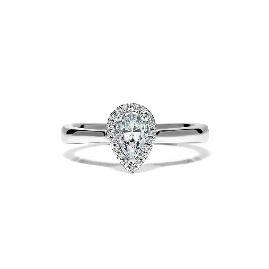 Bianca Ring 18K White Gold