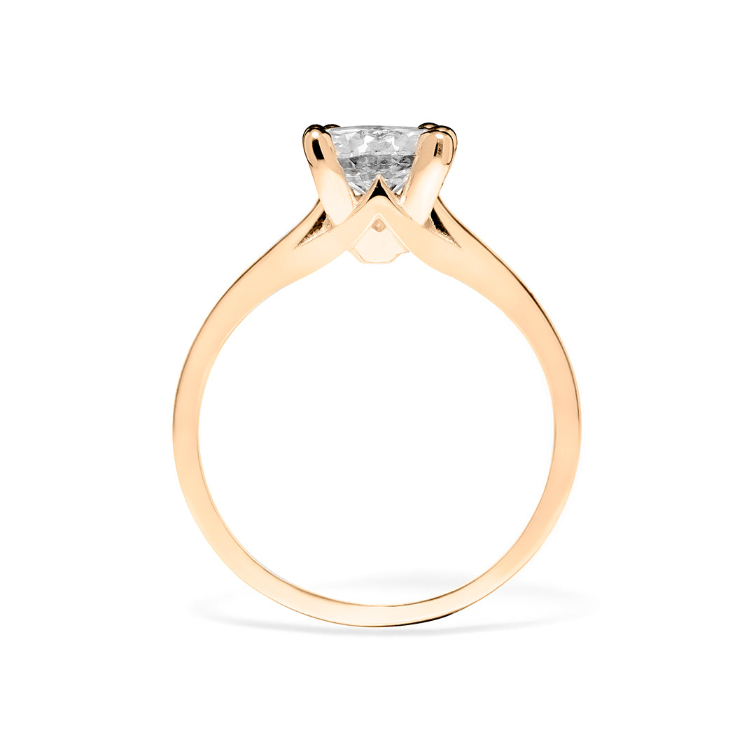 Caroline Ring 18K Rose Gold
