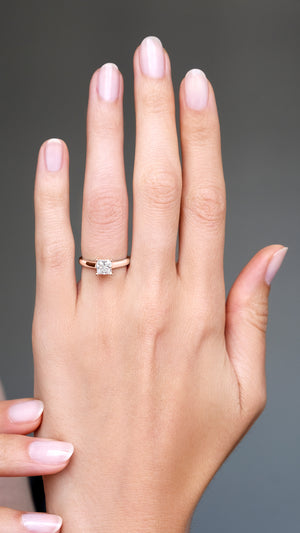 Charlotte Ring 18K Rose Gold