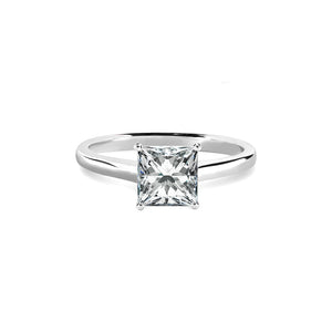 Charlotte Ring 18K White Gold