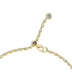 Iman Bracelet in Yellow Gold