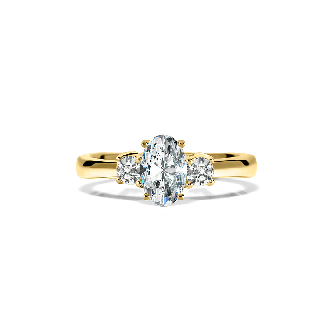Elizabeth Ring 18K Yellow Gold