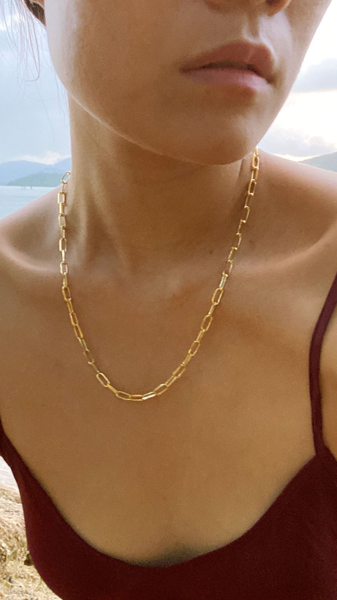 Eman Necklace 18K Yellow Gold