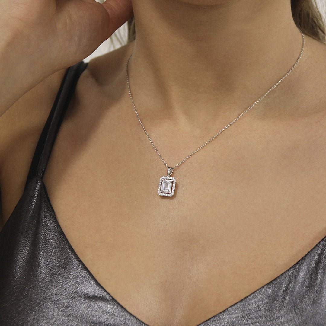 Eton Borderset Necklace