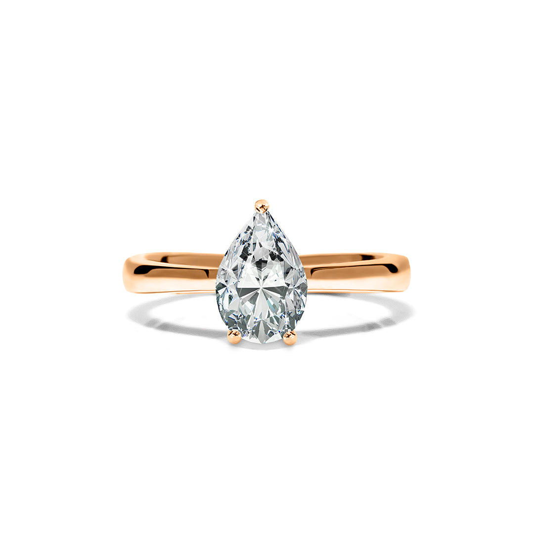 Florence Ring 18K Rose Gold