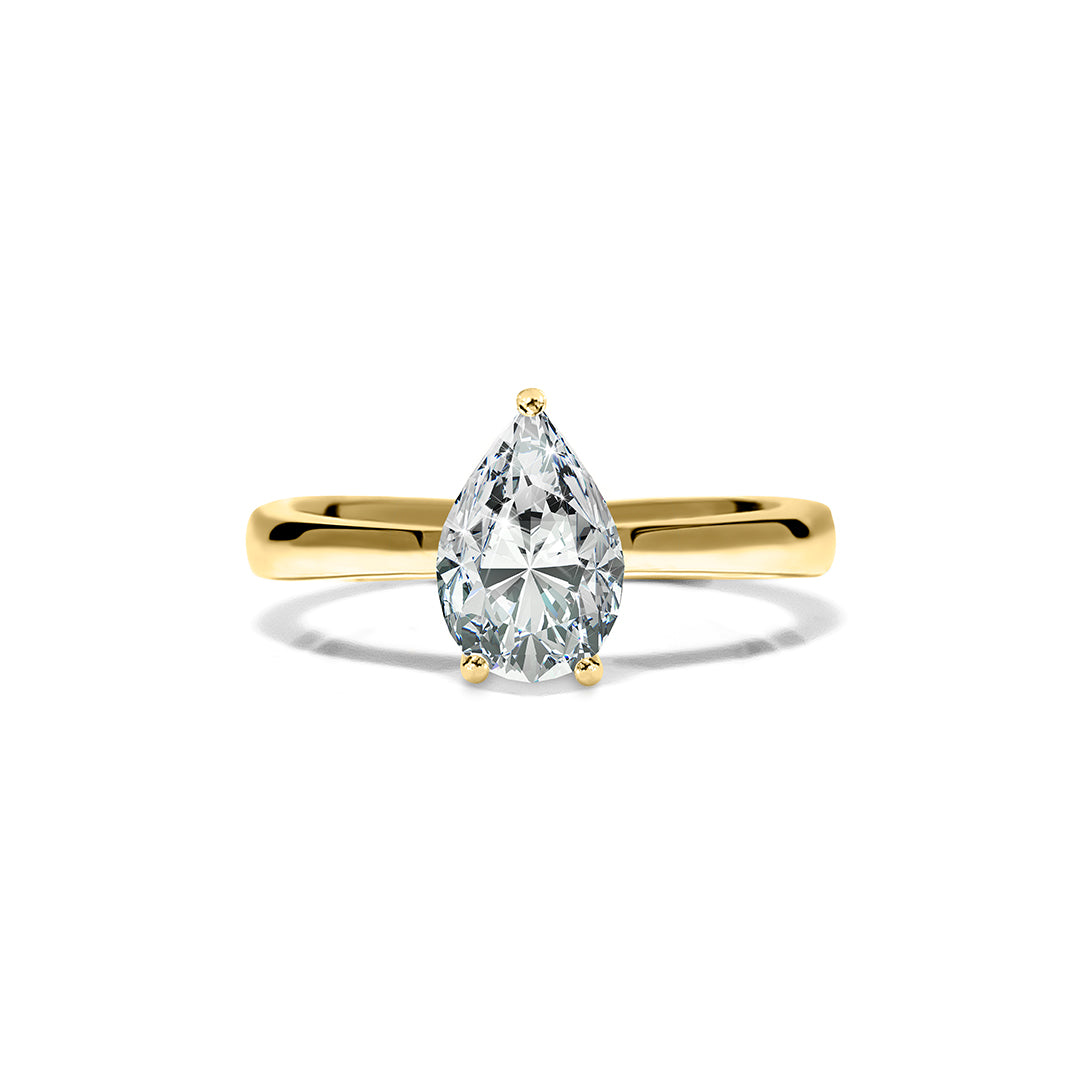 Florence Ring 18K Yellow Gold