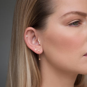 Harper Earring in Rose Gold