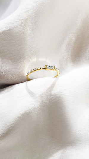 Ilaria Ring 9K Yellow Gold