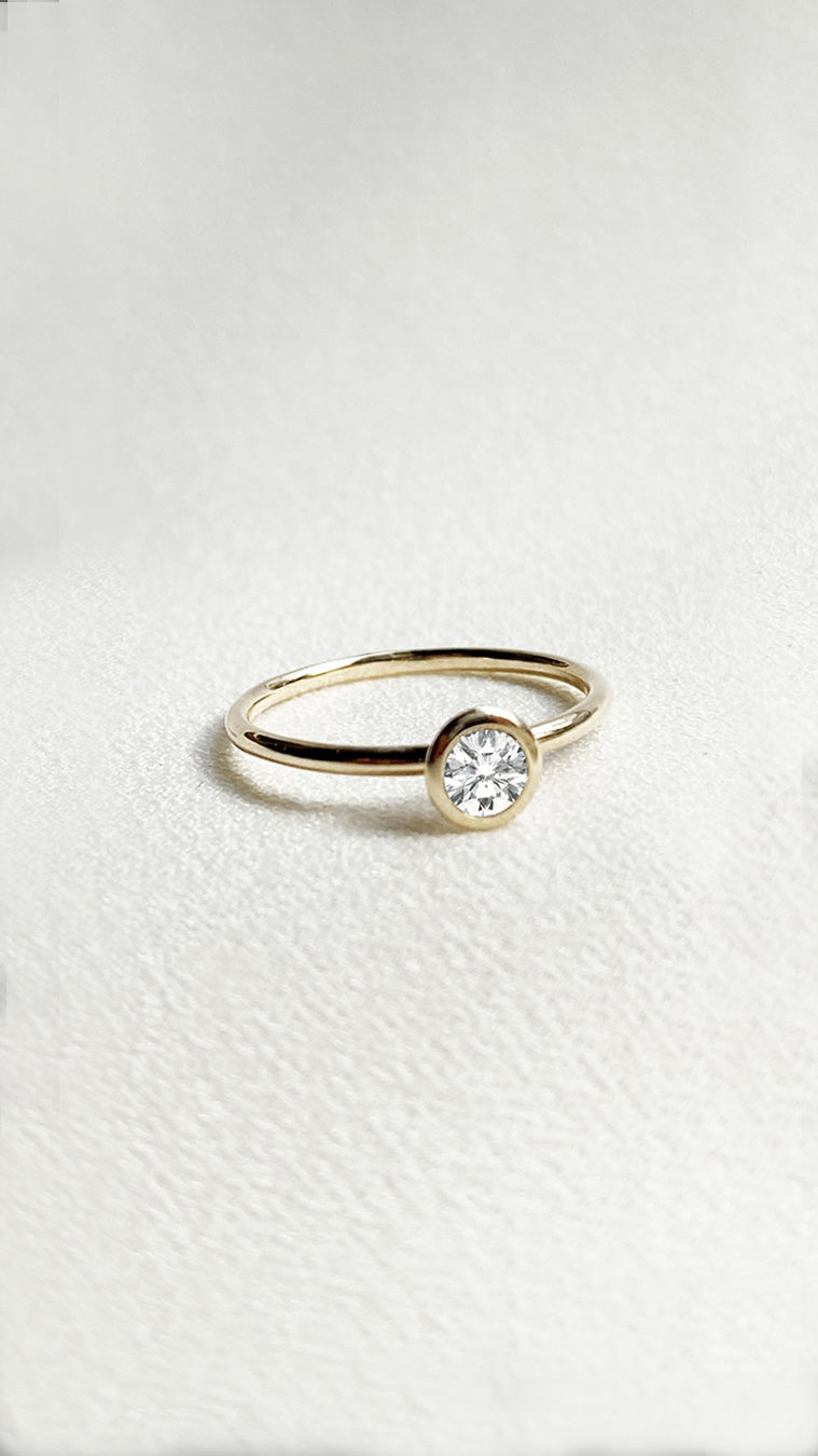 Maisie Ring 9K Yellow Gold