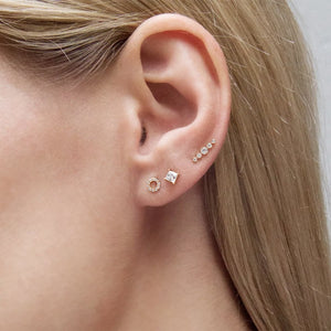 Miwa Stud in Rose Gold