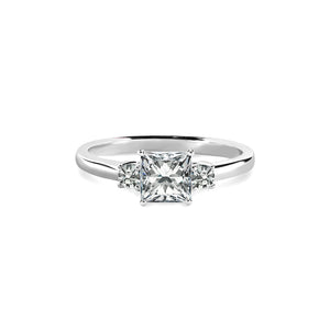 Olivia Ring 18K White Gold