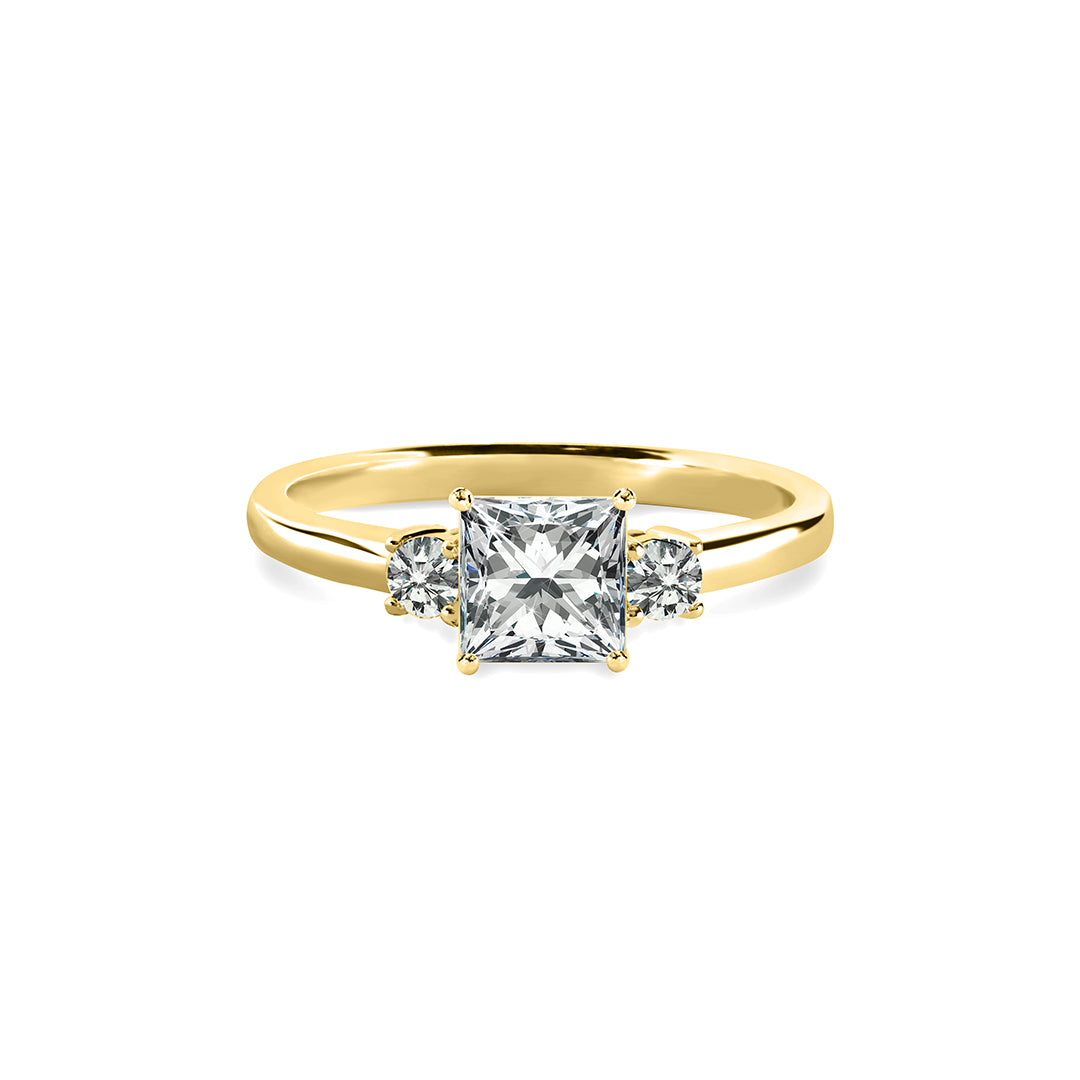Olivia Ring 18K Yellow Gold