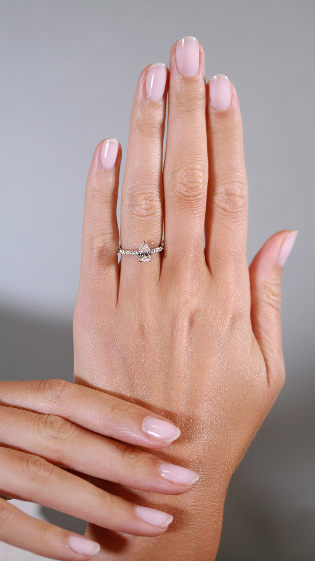 Ophelia Ring 18K White Gold