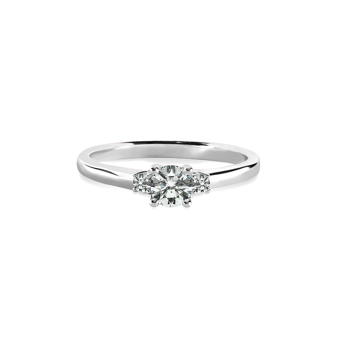 Adeline Ring 18K White Gold