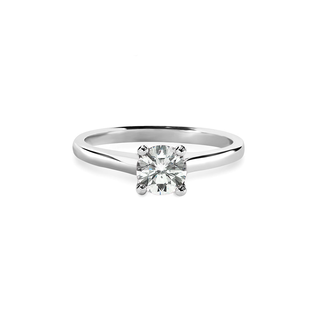 Rebecca Ring 18K White Gold