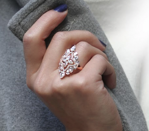 Antoinette Ring in Rose Gold