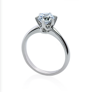 Maverick 1ct Solitaire White Gold