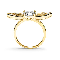 Shiva Ring 18K Yellow Gold