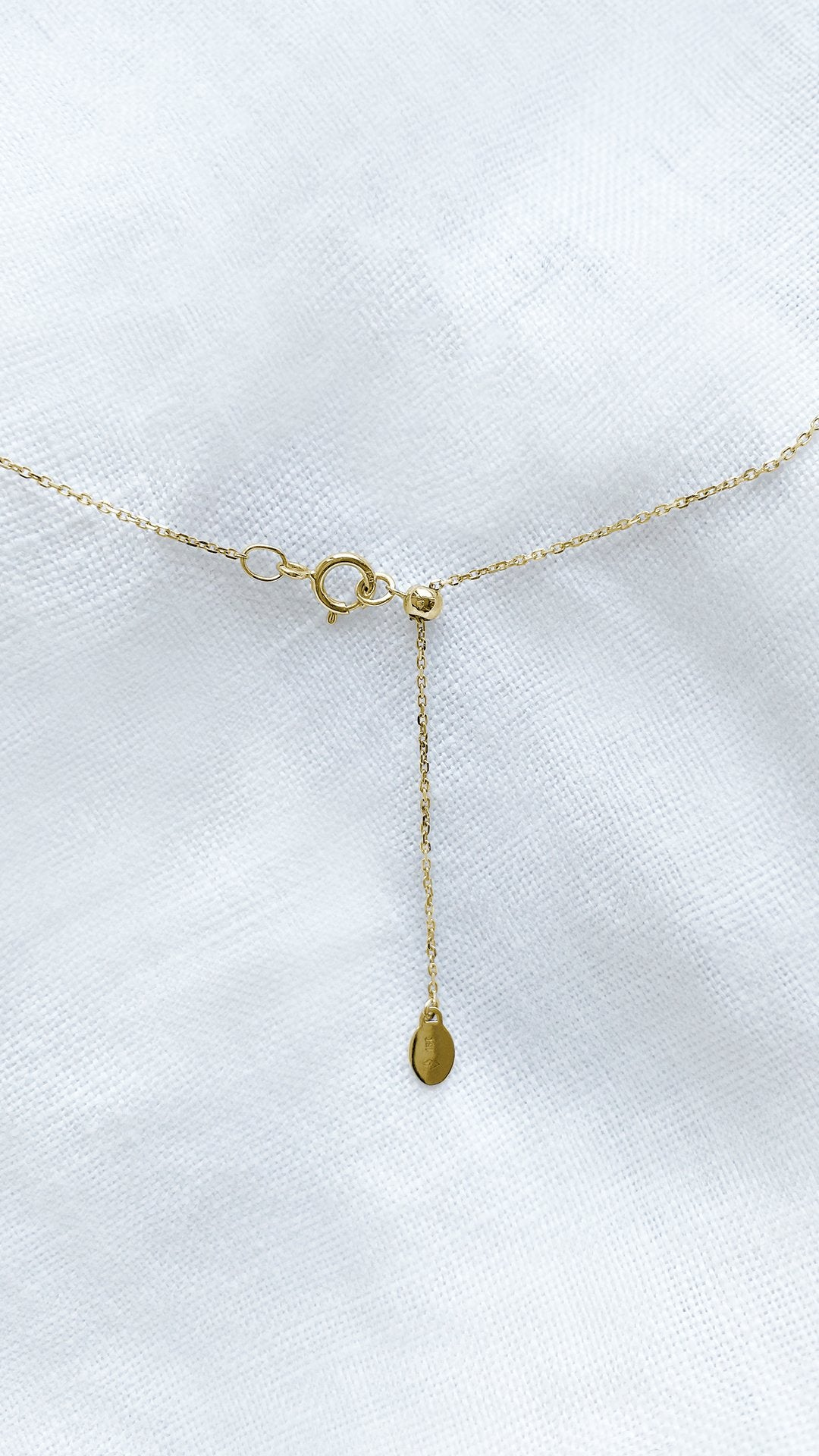 Simone Necklace 0.37ct 18K Yellow Gold