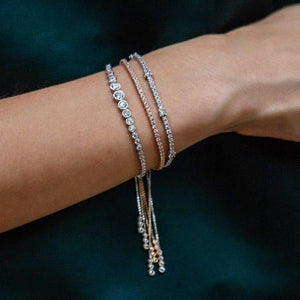 Quentin Bracelet in White Gold