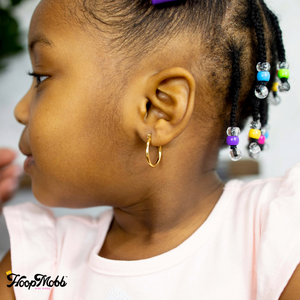 🎀 MINI MOBB- GOOD GIRL HOOPS - 14K GOLD FILLED/GOLD