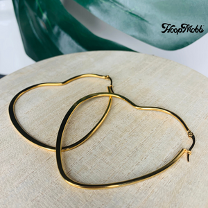 HEART OF STEEL - STAINLESS STEEL - GOLD