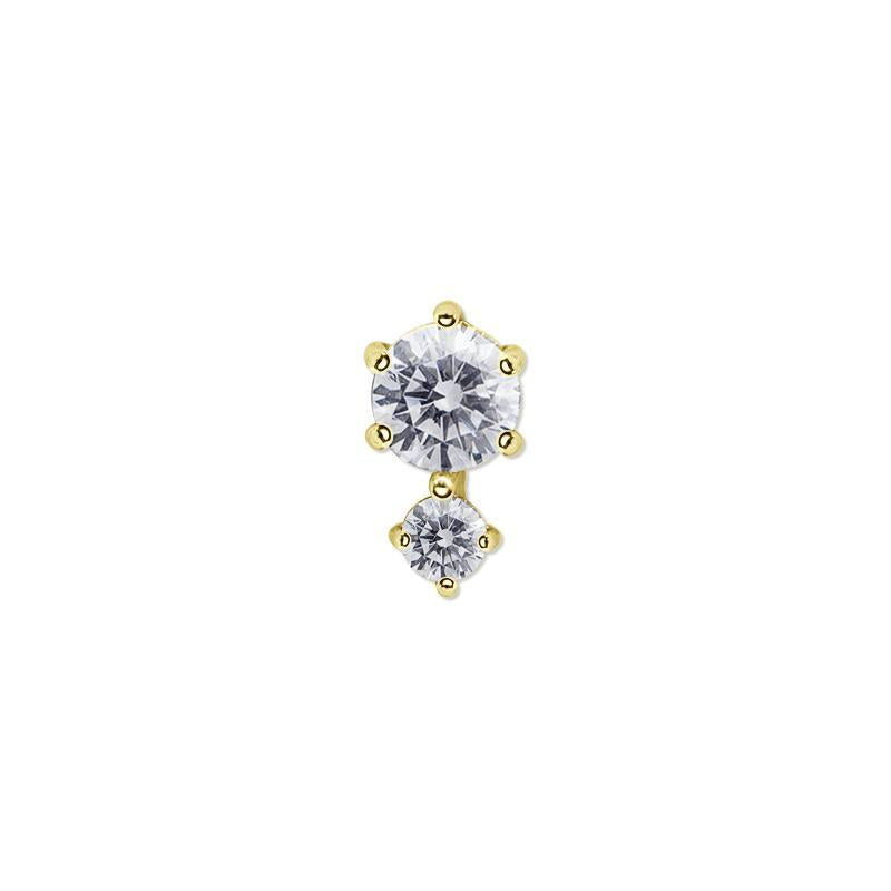 Ume Stud in Yellow Gold