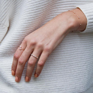 Calla Ring in Rose Gold