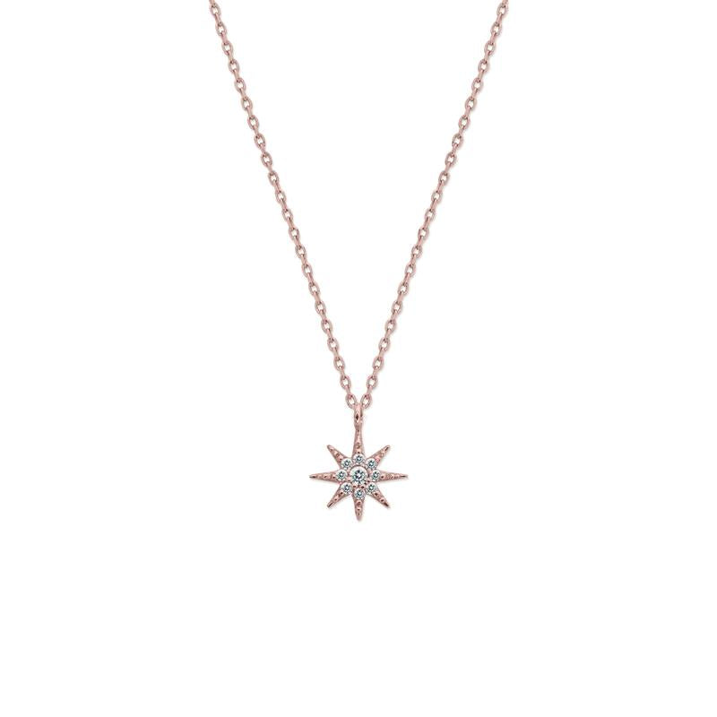 Lyra Necklace in Rose Gold