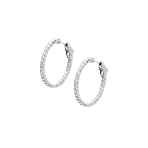 Cassia Small Hoops