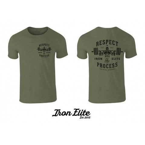 Respect The Process - Tri-Blend T-Shirt